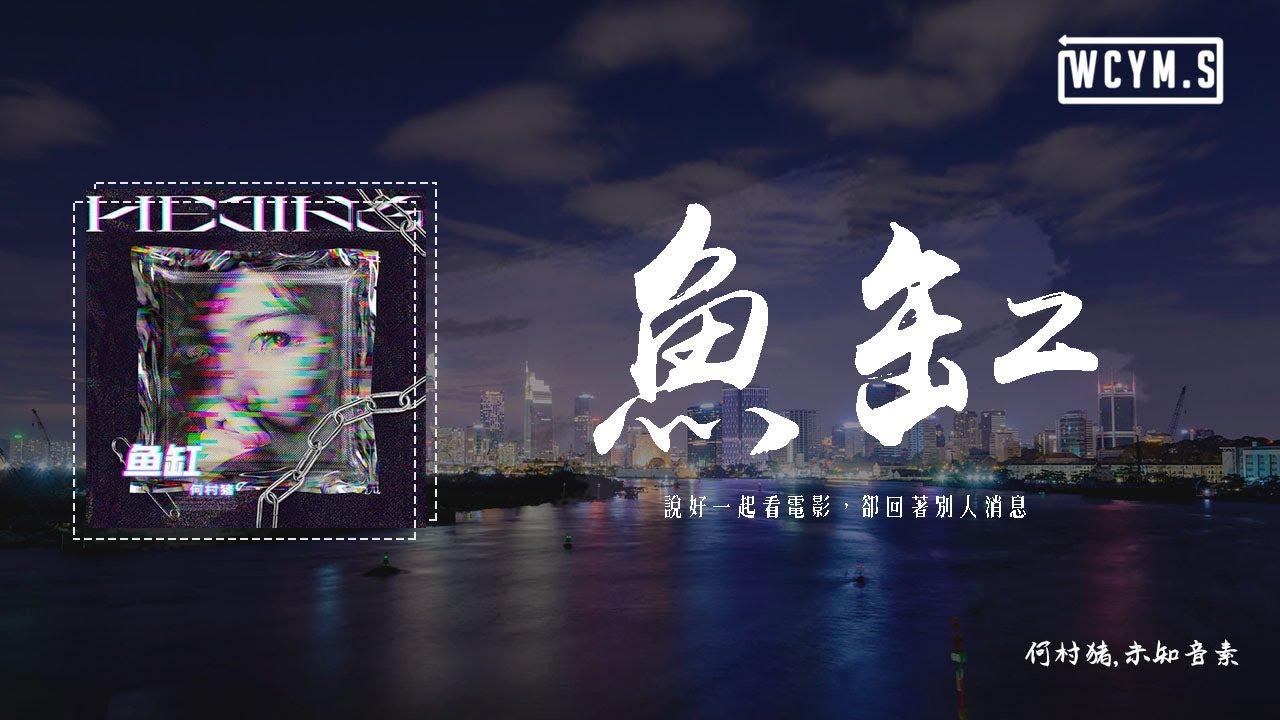 何村豬,未知音素 - 魚缸【女版】「說好一起看電影,卻回著別人消息」【動態歌詞/pīn yīn gē cí】