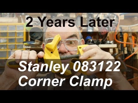Stanley Tools 083122 Heavy-Duty Angle Clamp 57 mm