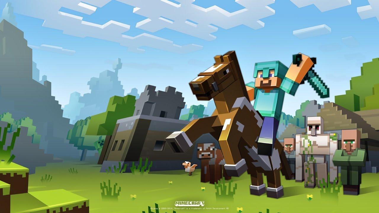 Bannière Youtube Minecraft 2048x1152