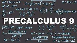 Precalculus 9 : Logarithm Equations