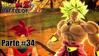 Dragon Ball Z Battle of Z - Goku Super Sayajin Deus! - Parte #34