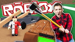 ROBLOX #5: Simulator LUMBERJACK?! | HouseBox