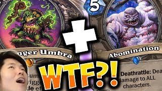 CRAZIEST ENDING EVER WITH OTK DRUID | HADRONOX | THE WITCHWOOD | HEARTHSTONE | DISGUISED TOAST