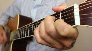 She Got The Best Of Me - Luke Combs | Acoustic Guitar Cover