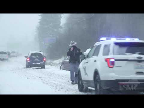 02-13-2021 Seattle, WA - Snowiest Day in 52 Years According to NWS - Plows - Accidents