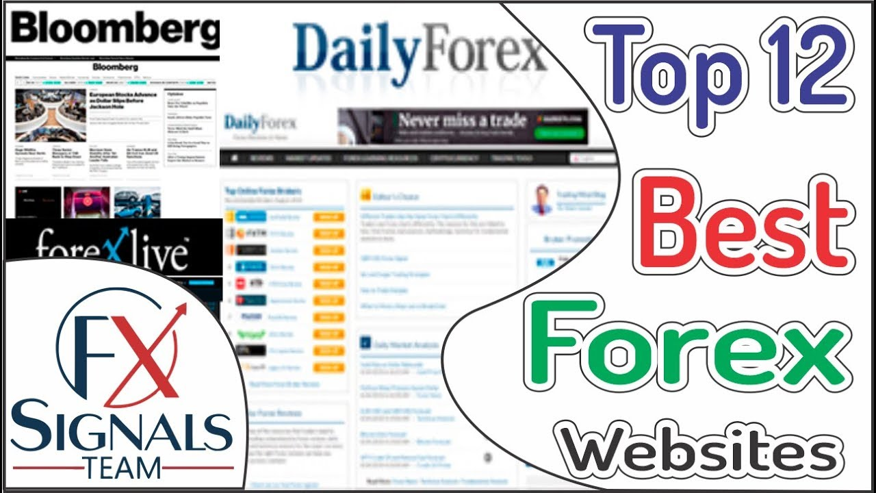 12 Best Websites For Forex Trading