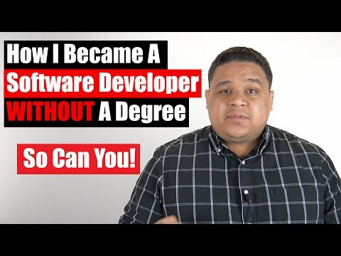 How I Became A Software Developer Without A Degree