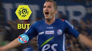 But Dimitri LIENARD (75') / RC Strasbourg Alsace - Olympique de Marseille (3-3)  / 2017-18