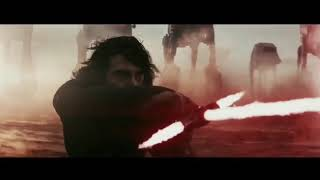 Luke Skywalker vs Kylo Ren, but it's how I imagined it.