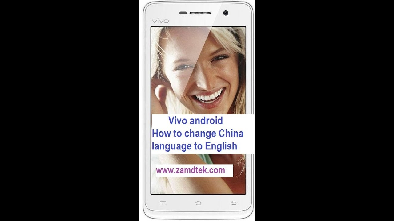 VIVO androids How to change the language