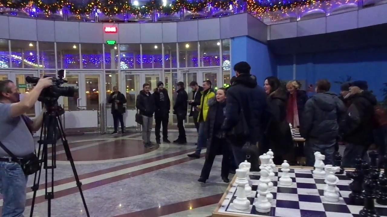 Песенный флешмоб, Белгород, 21 декабря 2016 года. Сразу пять песен!