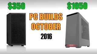 Gaming & Editing PC Builds - October