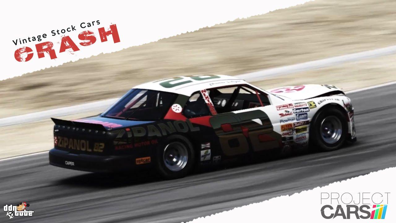 Project CARS Onboard Cam Crash - Caper Vintage Stock Cars - Race ...