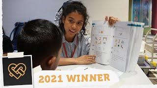 Empowering children through literacy | Golden Hearts Award 2021