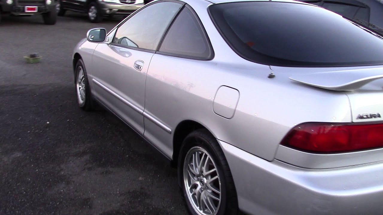 Acura Integra GS Stock At Sunset Cars Of Auburn YouTube - Acura integra gs 2000