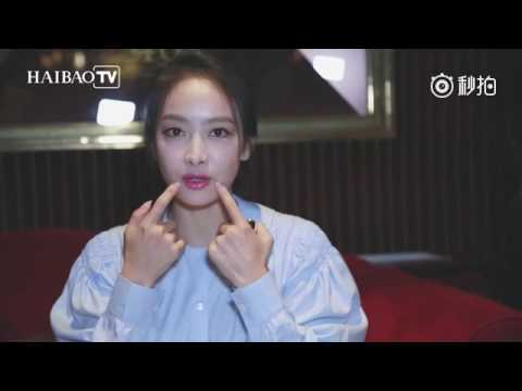 160930 Victoria - Haibao TV Backstage Interview Paris Fashion Week 2016