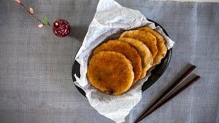 Korean Sweet Pancake (Hotteok) - Korean Series video 5 - CookingWithAlia - Episode 377