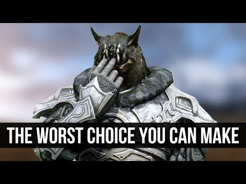 Skyrim – The WORST Moral Decision You Can Make!