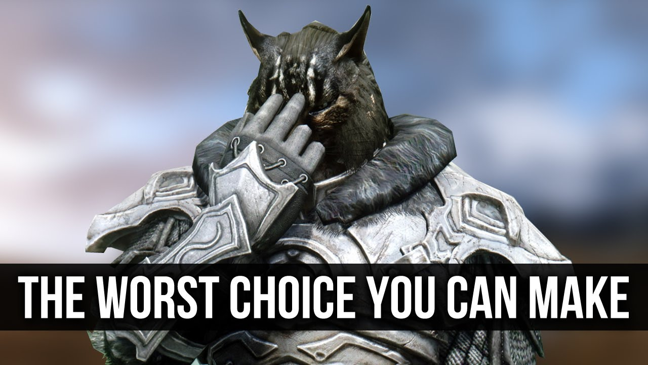 Skyrim – The WORST Moral Decision You Can Make! thumbnail