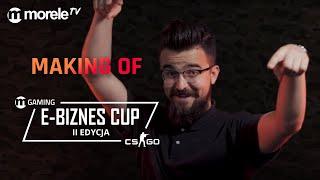 MAKING OF E - Biznes Cup 2 | Śmiechom nie było końca...