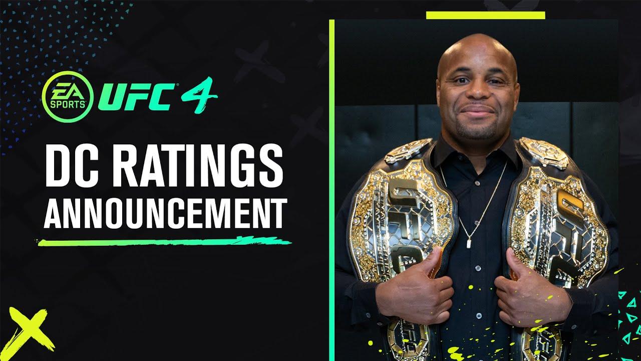 Daniel Cormier: EA SPORTS UFC 4 Ratings Update