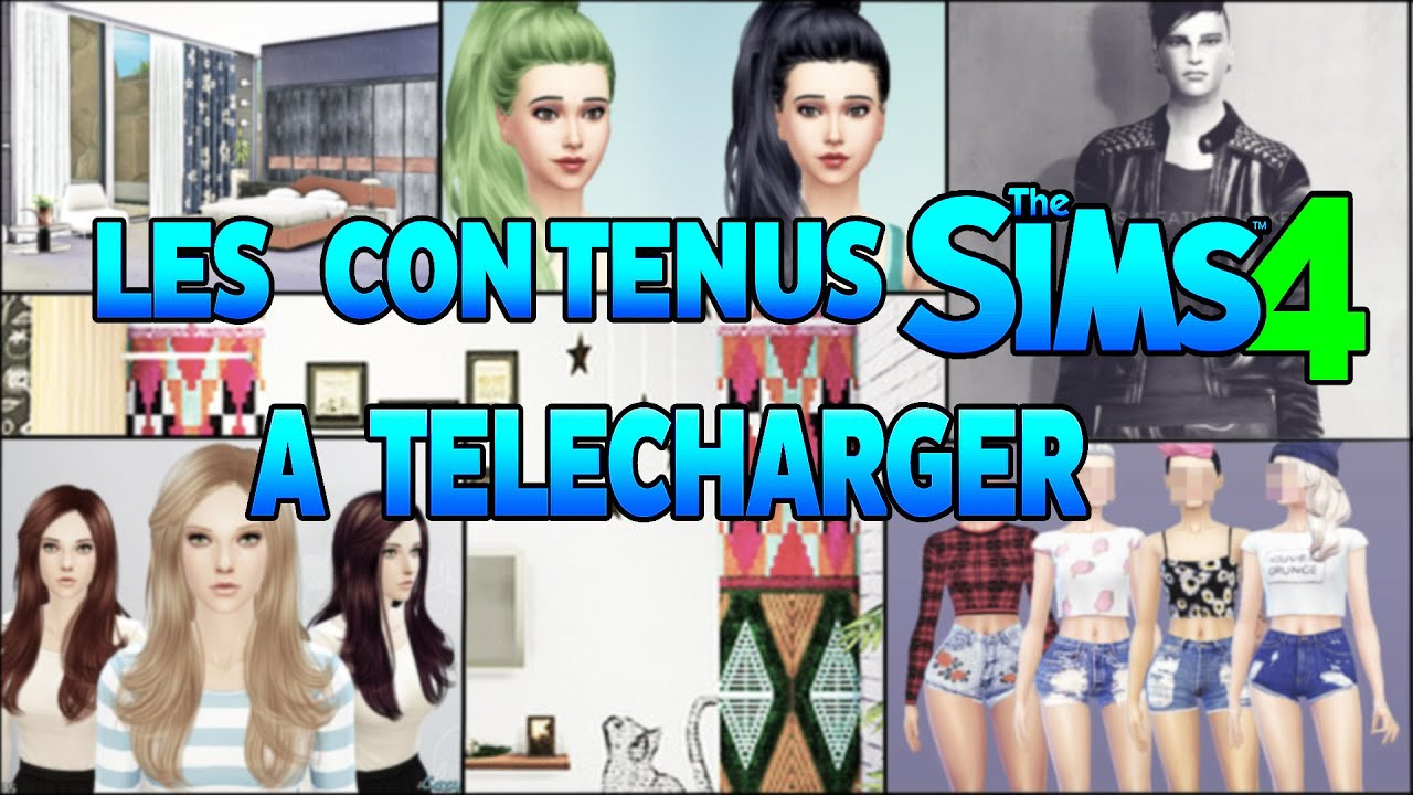 Sims 4 mes sites de t l chargements favoris comment for Sims 4 meuble a telecharger