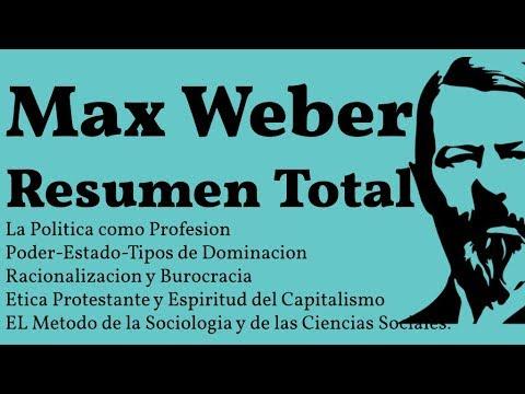 max-weber,-resumen-completo,-tipos-ideales-de-dominacion,-poder,-estado,-burocracia,-metodo-sociolog