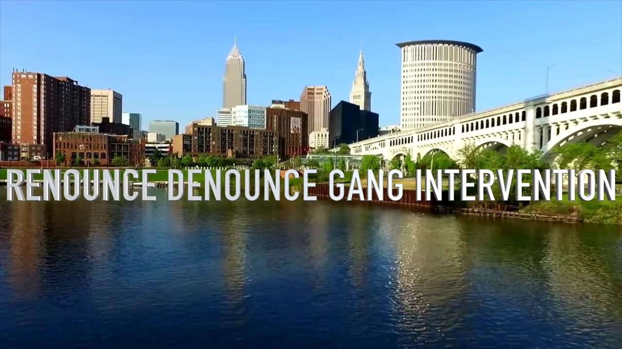 reNOUNce deNOUNce  Gang Intervention  Program Graduation Day.