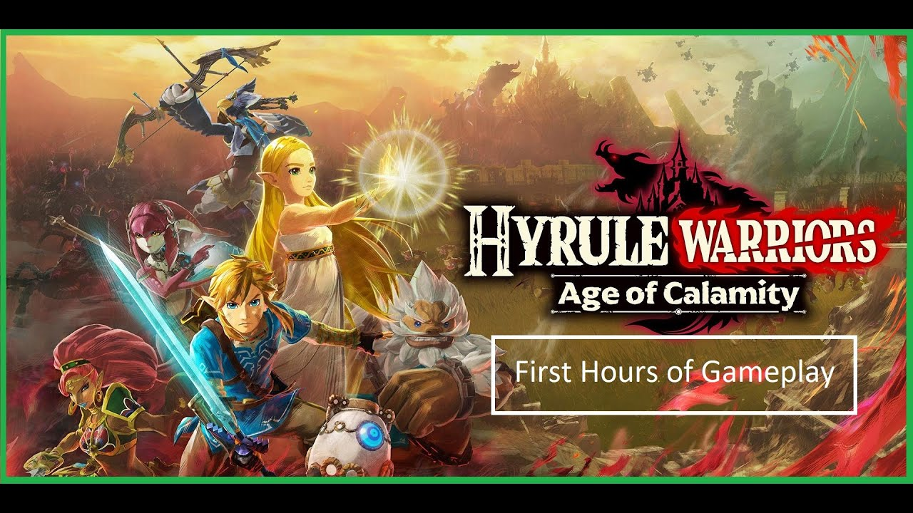 Hyrule Warriors Age Of Calamity First Hour Of Gameplay Youtube