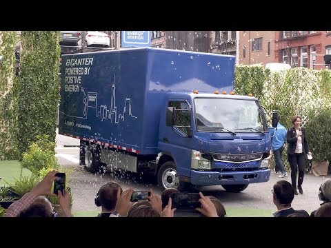 Fuso eCanter - Global Launch Event of Series-produced All-electric Truck