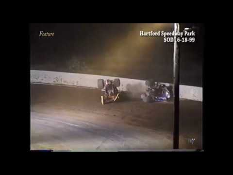 Full race from the SOD sprints at Hartford Speedway Park in MI June 18, 1999. This was the first race at Hartford since being closed in 1997. Ohio