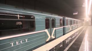 Видеоролик «Строительство участка «Выхино» — «Котельники» Московского метрополитена», октябрь 2013