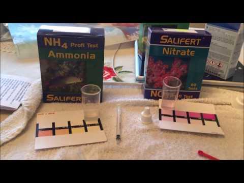API Vs Salifert Nitrate Testing