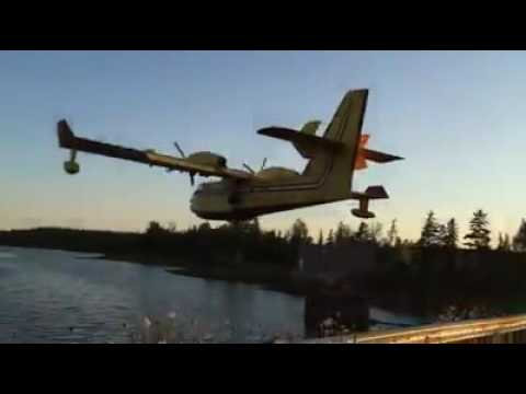 Water bomber in Pictou County