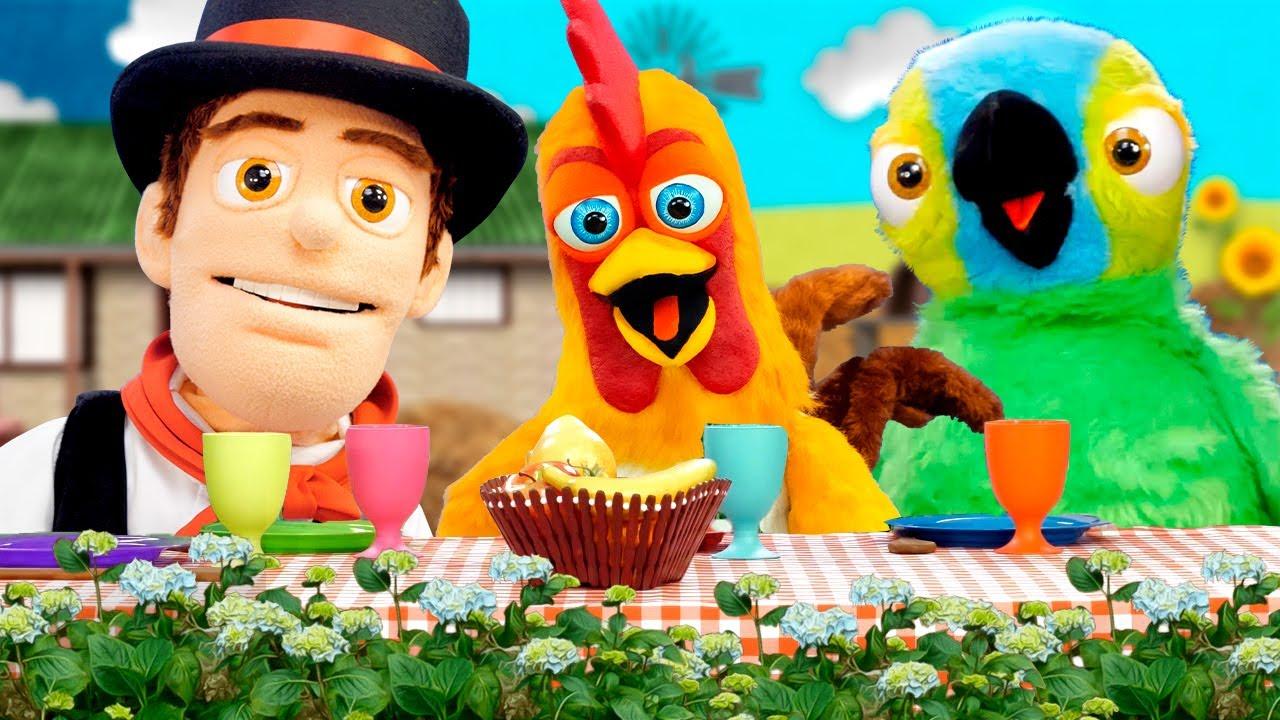 ¡Bartolito No Quiere Comer Vegetales y Más Episodios de Las Marionetas! | La Granja de Zenón