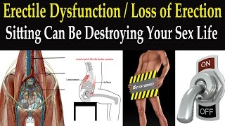 Erectile Dysfunction / Loss of Erection?  Sitting Can Be Destroying Your Sex Life - Dr Mandell