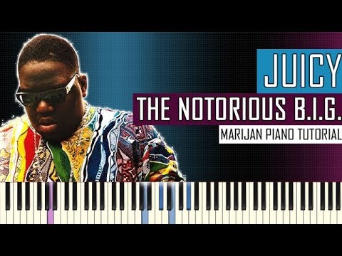 How To Play: The Notorious B.I.G. - Juicy | Piano Tutorial - with Instrumental