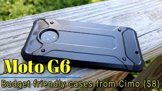 Moto G6: Case review - Budget friendly cases from Cimo ($8)!