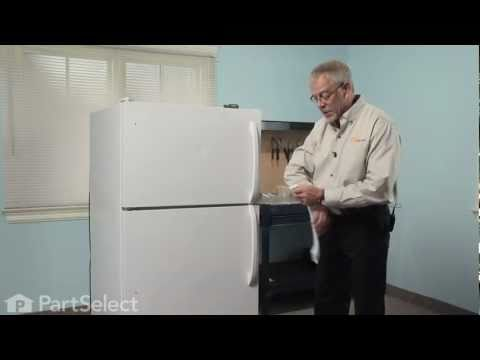 Refrigerator Repair- Replacing The Door Handle (Frigidaire Part # 218428101)
