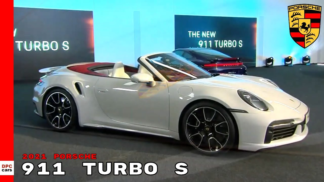 New 2021 Porsche 911 Turbo S Coupe Convertible Youtube