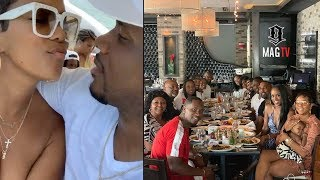 Letoya Luckett Celebrates Husband Tommicus 39th B-Day In Miami! 🛥