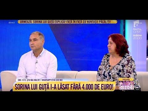 Nuntă cu lacrimi! Sorina, fosta iubită a lui Nicolae Guță, a distrus o nuntă!