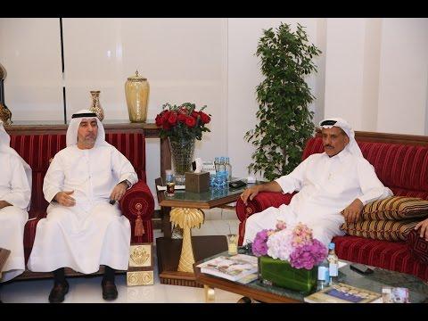 خلف الحبتور يستضيف التجار الشباب من غرفة تجارة دبي في مجلسه الرمضاني