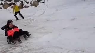 태기산 눈 썰매장