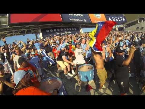 NYCFC SUPPORTERS VS CREW 8-29-2015