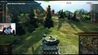 World of Tanks - Centurion Action X Gameplay