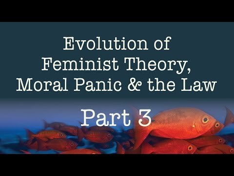 Evolution of Feminist Theory, Moral Panic & the Law - Part 3