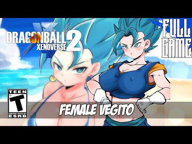 DBXV2 MOD】FEMALE VEGITO STORY MODE [PC - HD