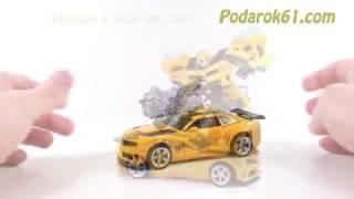 Быстрый видеообзор новой игрушки трансформер Бамблби