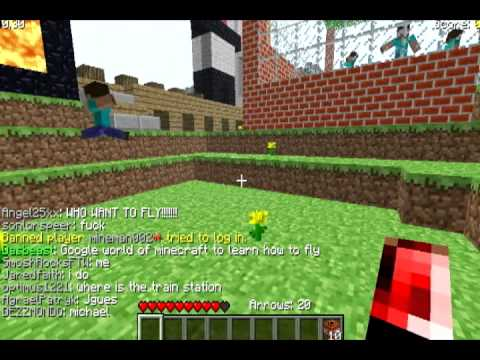 Minecraft Classic Survival Mod - YouTube